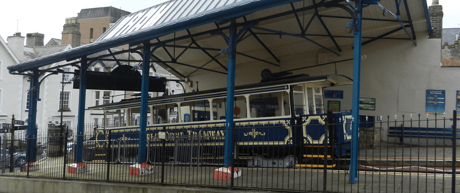 Llandudno ornate Train